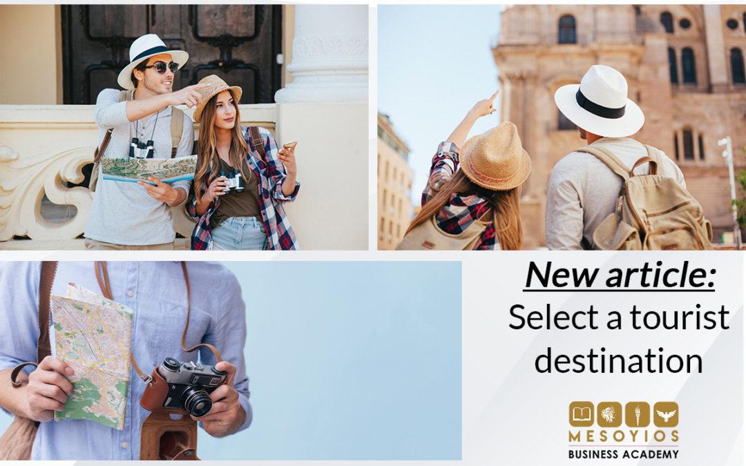 Tourist Destination Selection